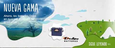 Baterías Deka