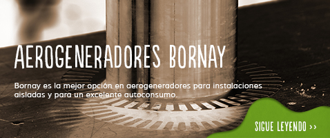Aerogeneradores Bornay